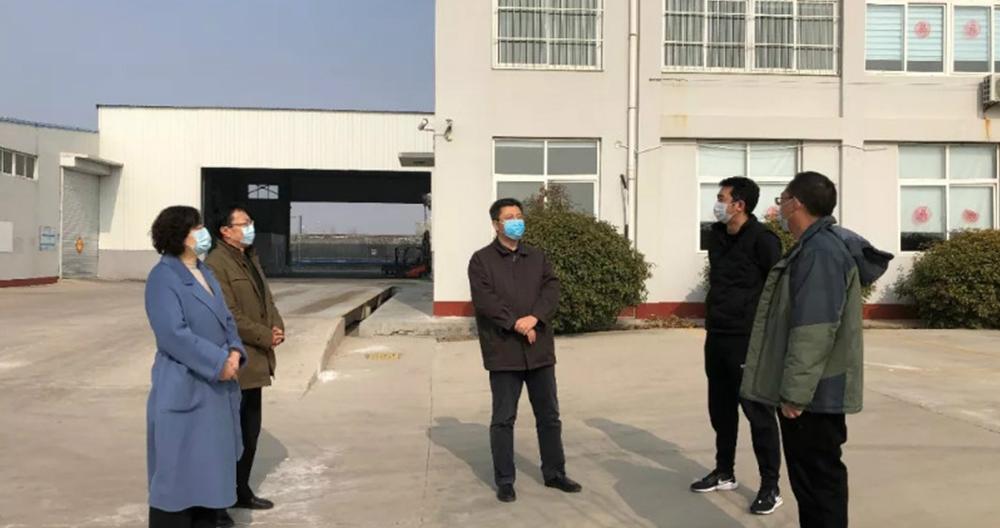 田大中副市长到乐动app官网乐动体育app官方调研疫情防控和复工复产工作情况